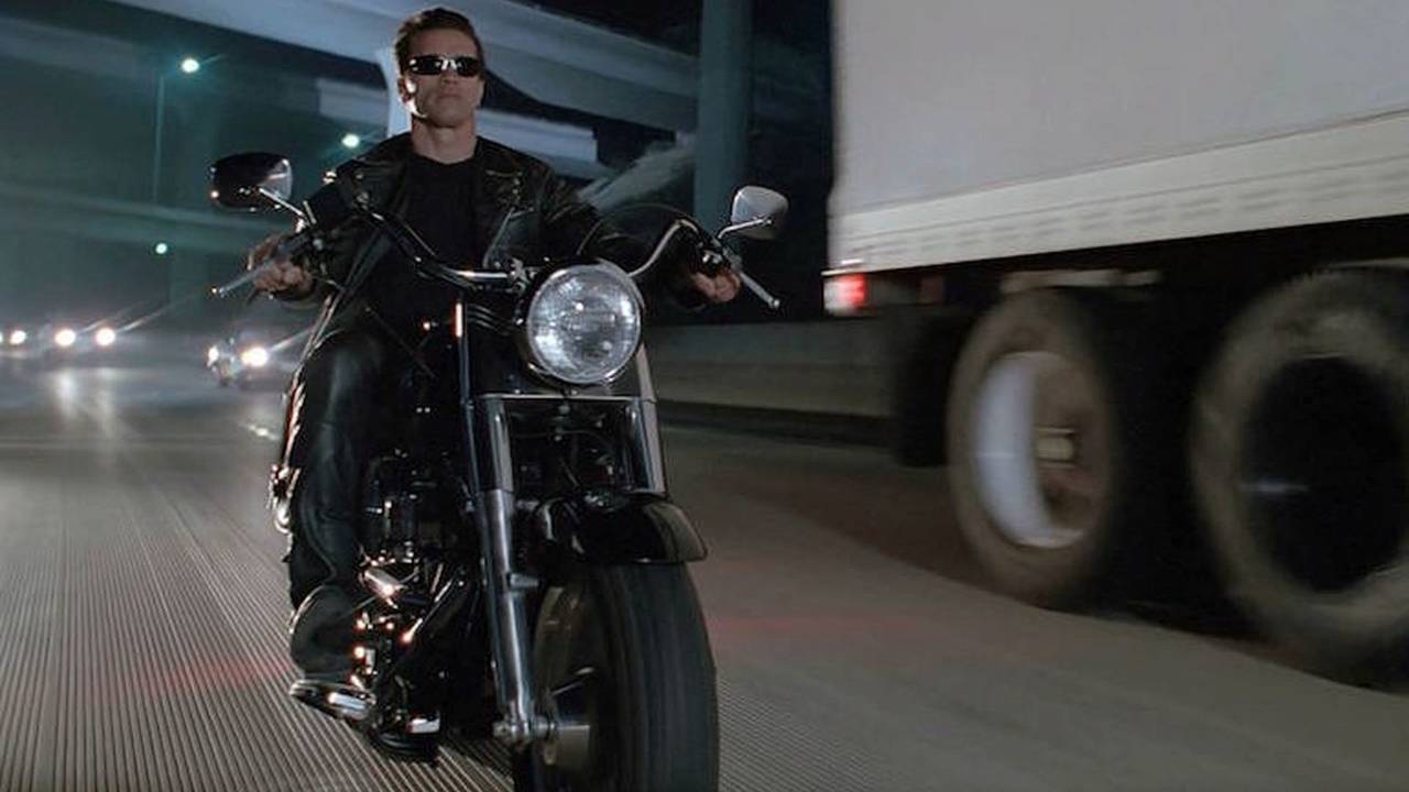 Harley-Davidson Used In Terminator 2 Hits Auction Block