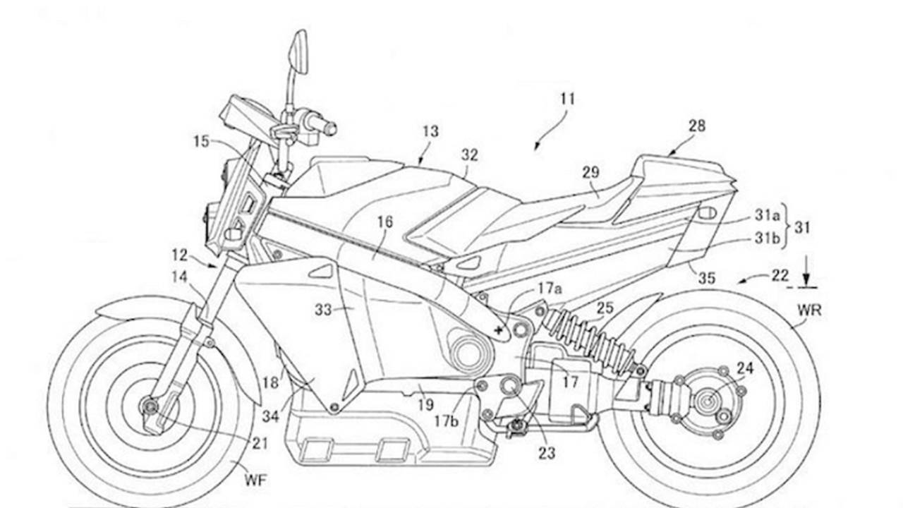 Honda Files New Patent for Hydrogen-Powered Naked