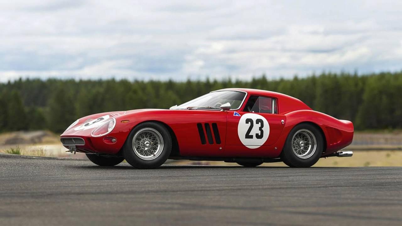 Ex-Phil Hill Ferrari 250 GTO test car