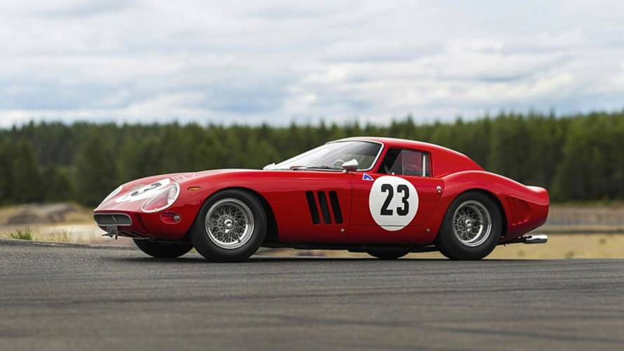 Ex-Phil Hill Ferrari 250 GTO Test Car Announced For $45M Auction