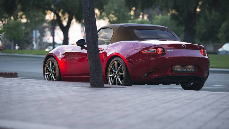 2019 Mazda MX-5 gets 182-bhp in Europe