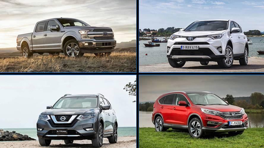 Los 10 coches más vendidos del mundo en 2018