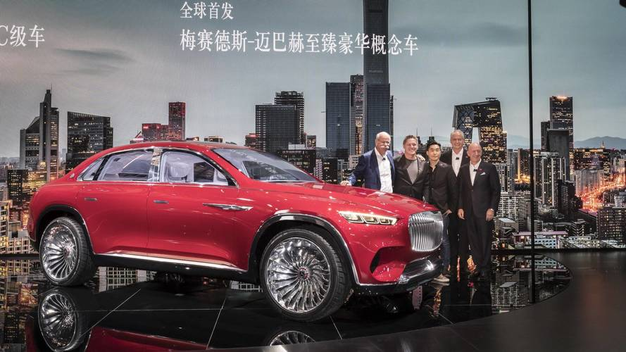 Mercedes-Maybach dévoile son Ultimate Luxury au Salon de Pékin