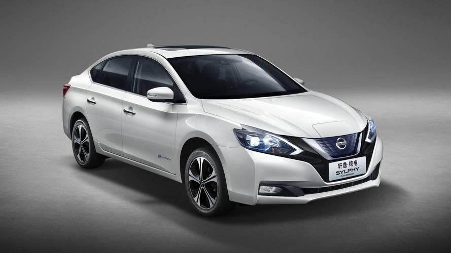 Nissan Sentra elétrico começa a ser vendido na China