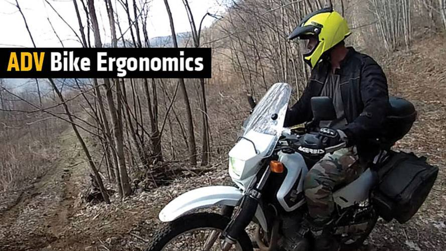 How To: ADV Bike Ergonomics