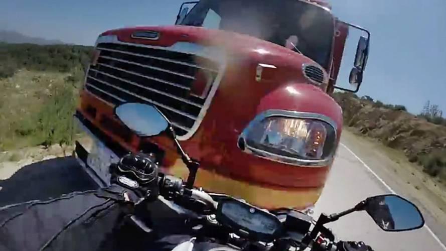 Staring Down the Bumper of a Firetruck