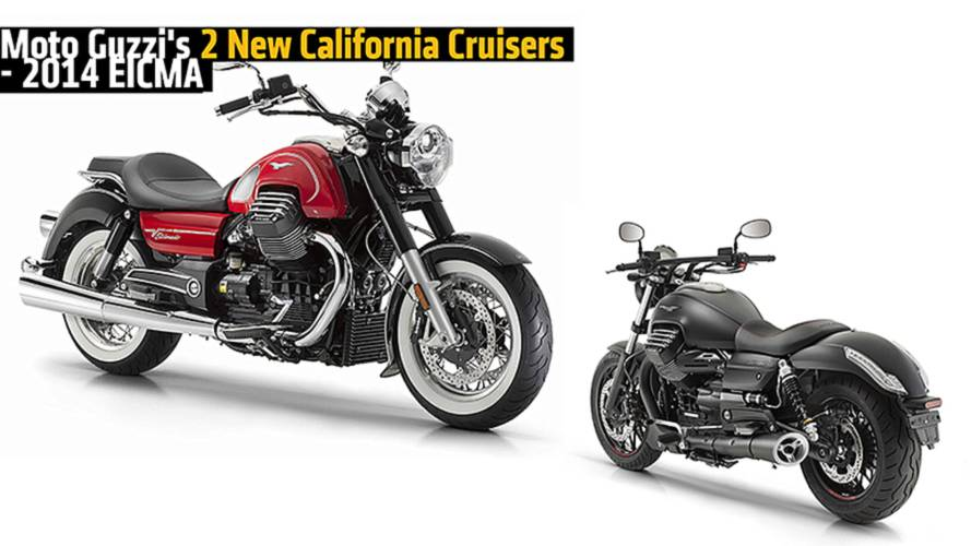 Moto Guzzi's 2 New California Cruisers - 2014 EICMA