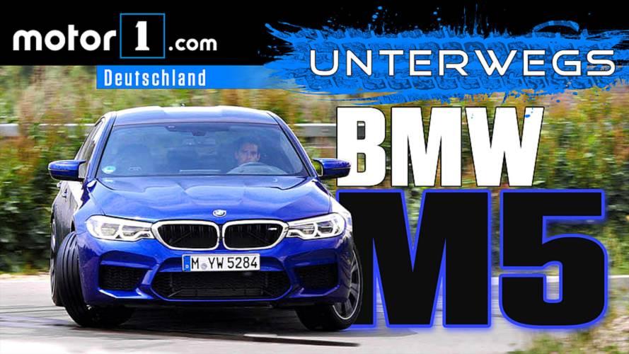 Sind 600 PS genug? BMW M5 | UNTERWEGS mit Daniel Hohmeyer