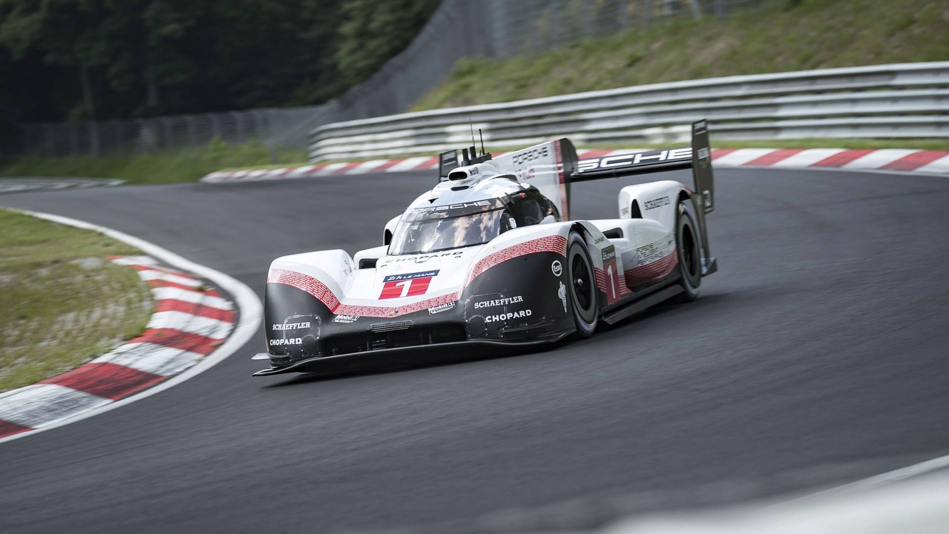 Watch The Porsche 919 Set Nürburgring Record From Driver\u0027s View
