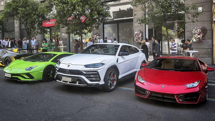 Lamborghini sbarca a Roma, presentata la concessionaria della Capitale