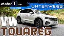 vw touareg test video