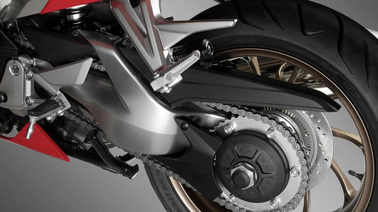 2014 Honda VFR800 rear suspension