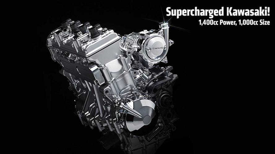 Kawasaki's New Supercharged Motorcycle Engine