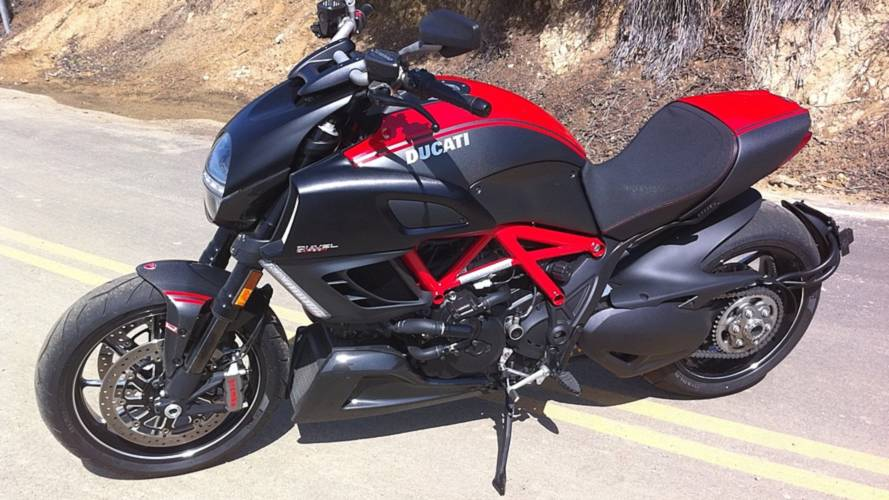 My date with the Diavel