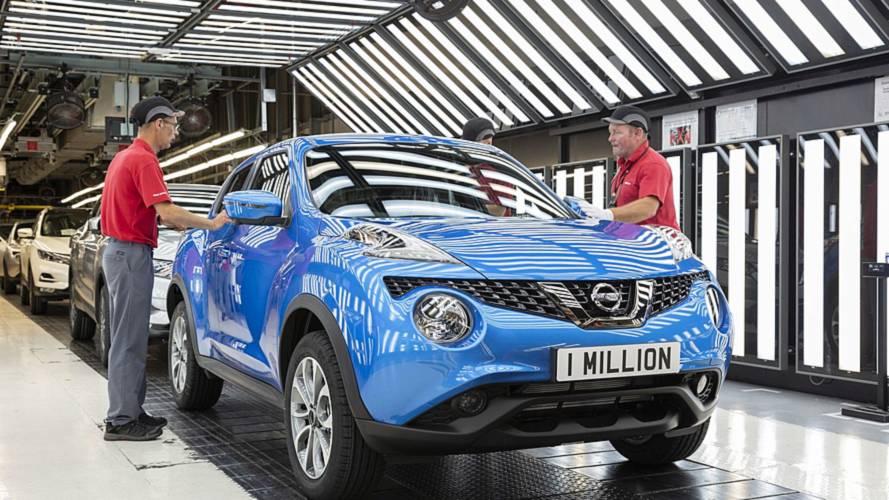Az egymilliomodik Juke is elkészült a Nissan sunderlandi üzemében