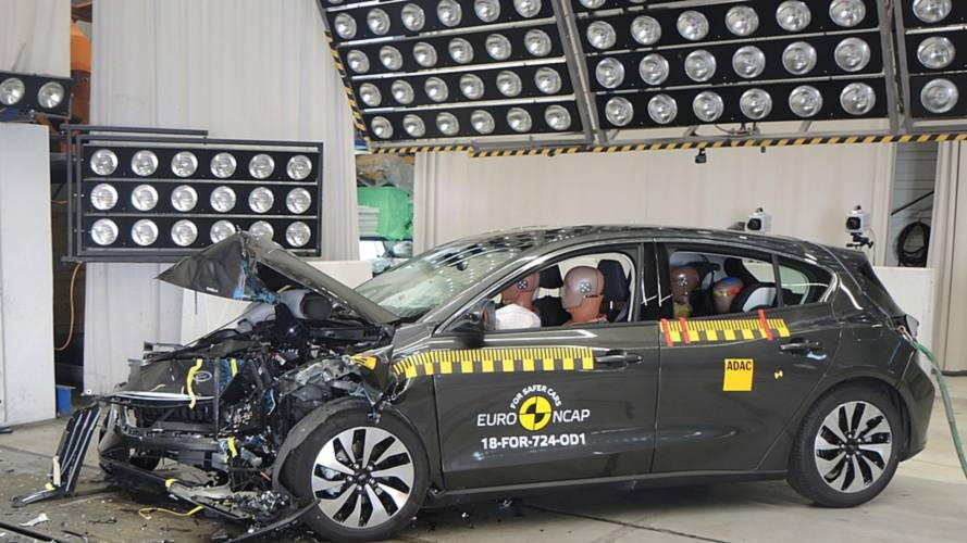 Crash test Euro NCAP Ford Focus e Volvo XC40