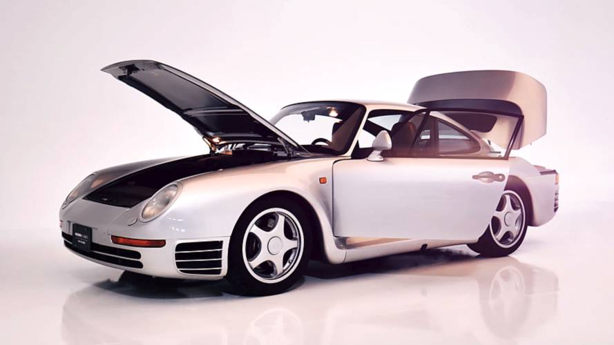 Watch a pristine Porsche 959 being meticulously cleaned