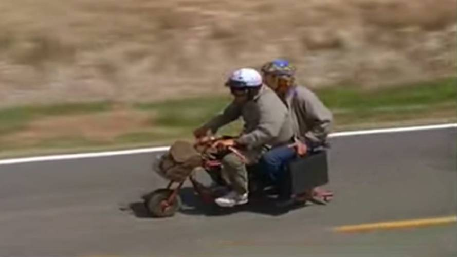 UPDATE: Mini Bike from Dumb and Dumber Sells for $50K