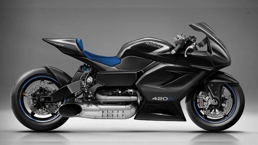 Meet the 420RR - MTT's New Turbine-powered Superbike