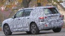 New Mercedes-Benz GLB-Class Spied