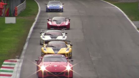 Here's What Happens At Ferrari's Impressive Track Day Events