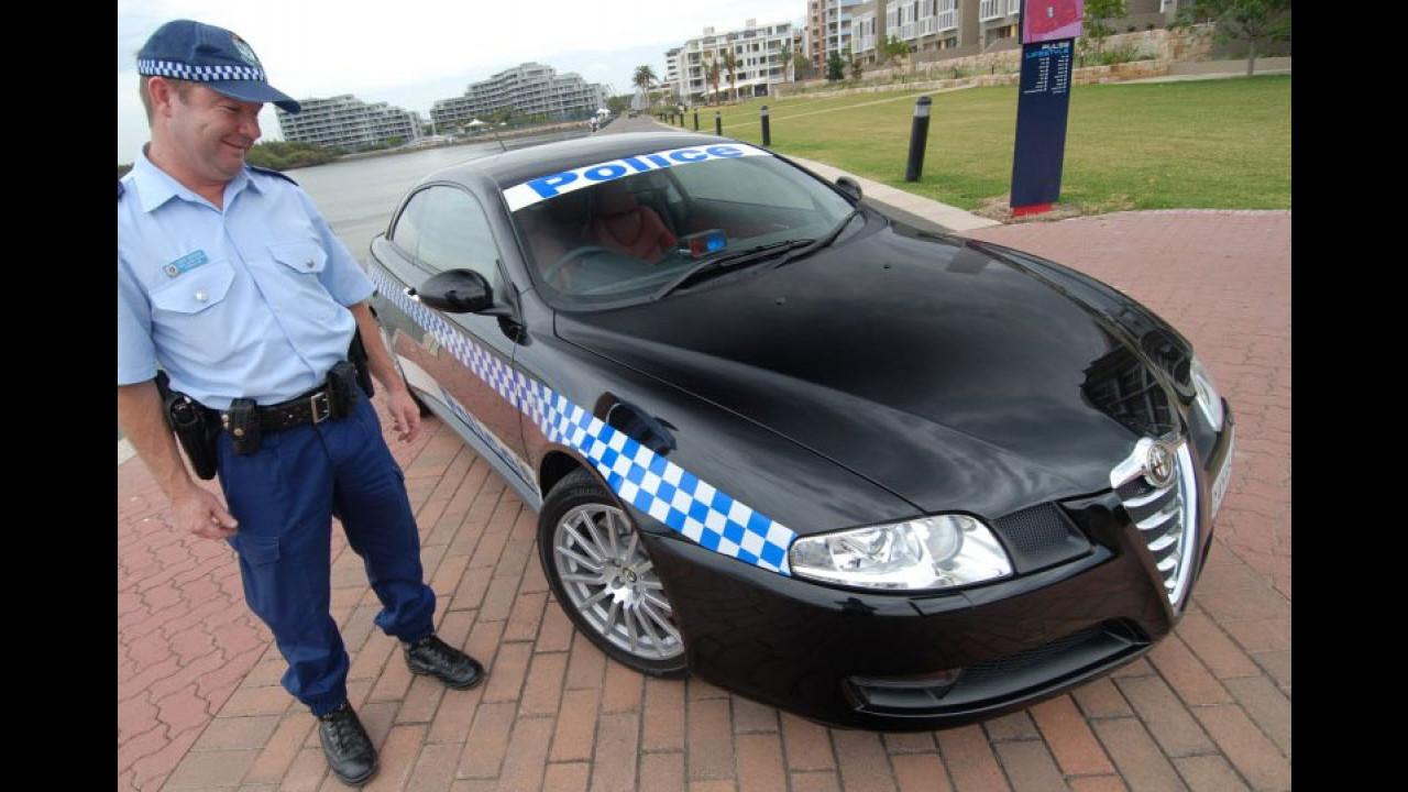 Alfa Romeo GT alla Polizia Australiana