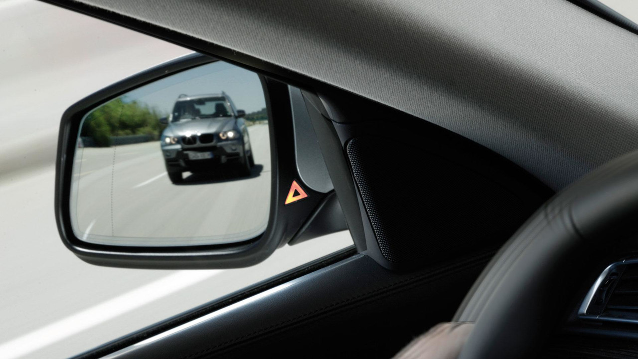 BMW lane-departure warning