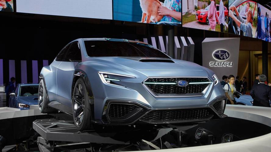Subaru Viziv Performance Concept Could Preview Next-Gen WRX