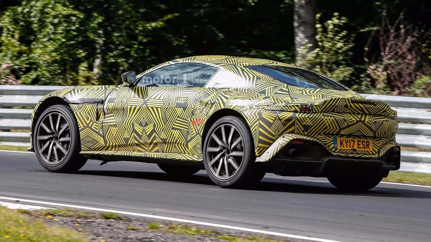 2019 Aston Martin V8 Vantage spy photo