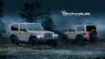 2018 Jeep Wrangler Two-Door Rendering