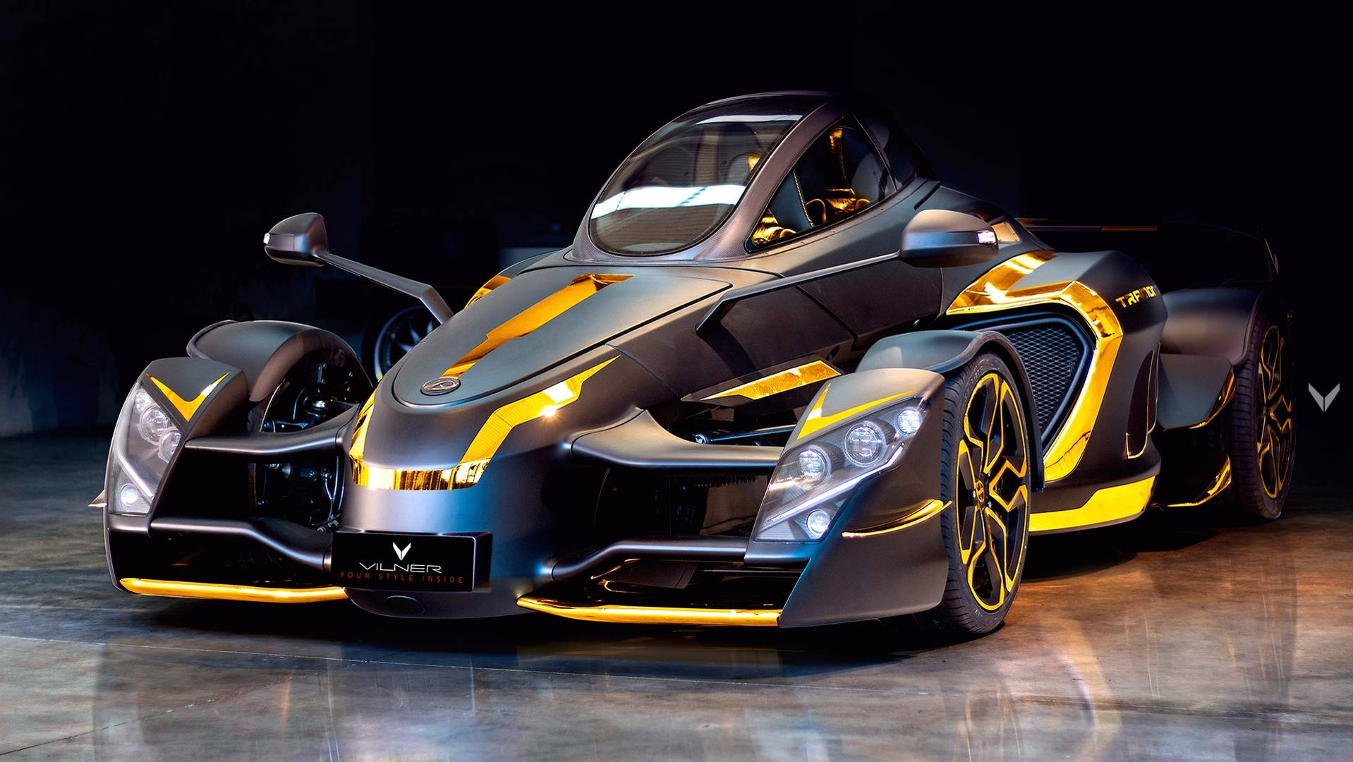 888 Hp Tramontana Sports Car Goes Gold Thanks To Vilner