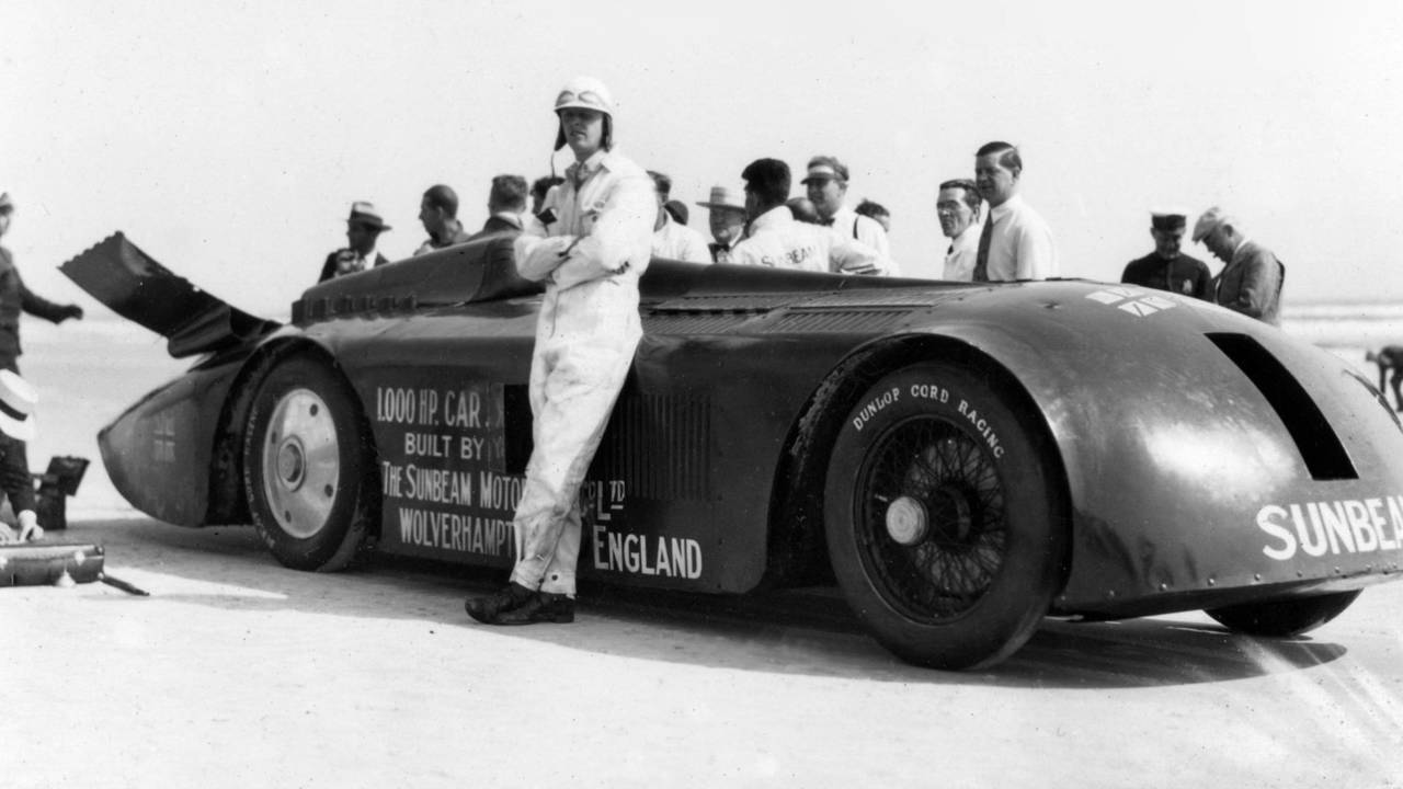 5. Sunbeam 1000HP, 1927