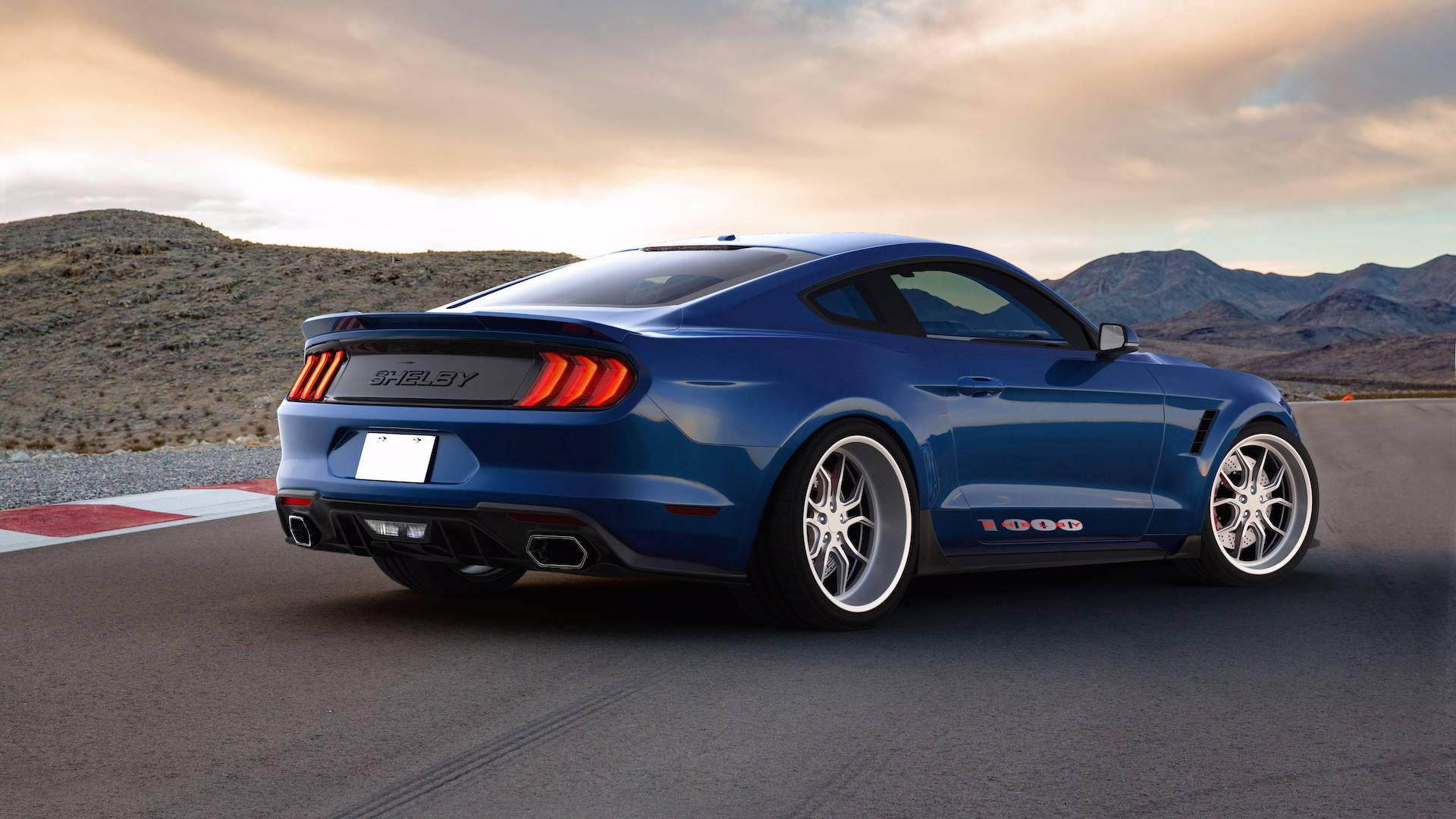 Shelby 1000 is a track only mustang loaded with 1000 hp