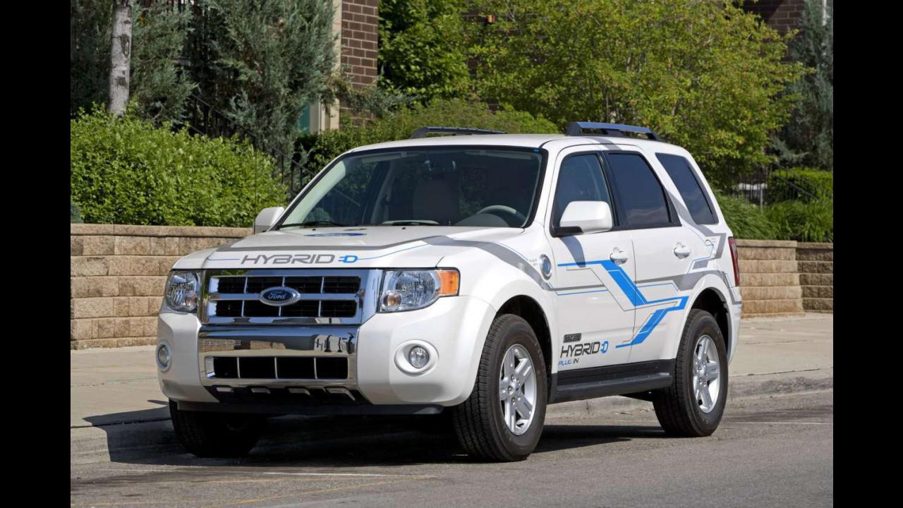 Ibrido, etanolo e plug-in su Ford Escape