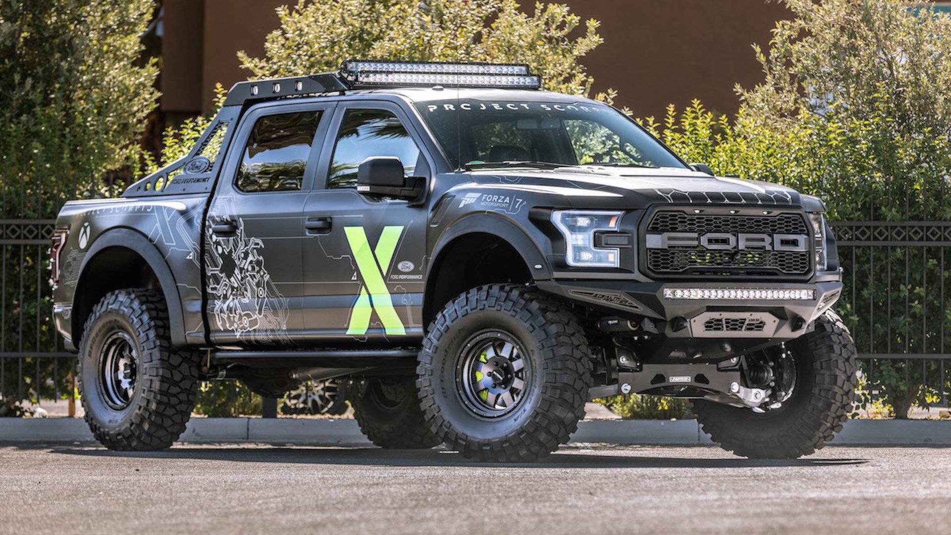 Ford F 150 Raptor Xbox One X Edition Was Made For Gamers