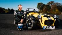 Caterham Seven 620R récord donuts
