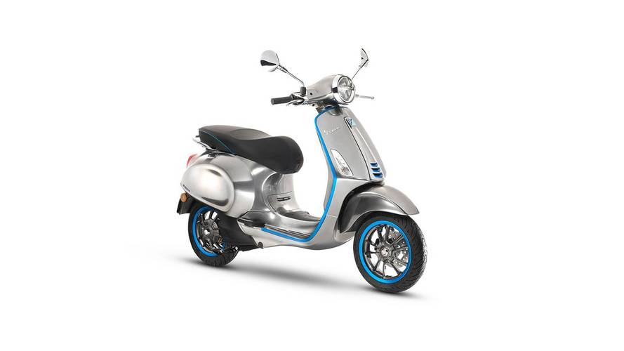 Meet The Elettrica, Vespa's First Electric Scooter