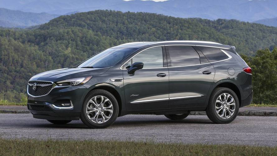 2018 Buick Enclave First Drive The