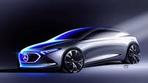Mercedes Concept EQ A
