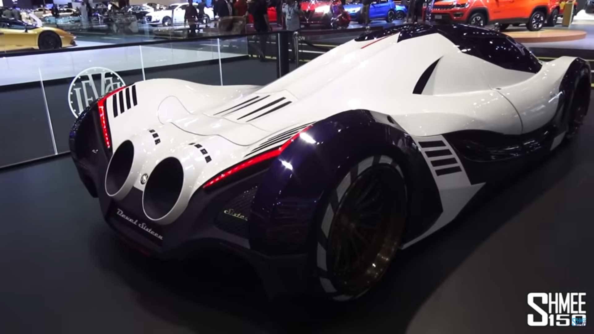 Devel Sixteen Hypercar Targets A Top Speed Of 320 Mph
