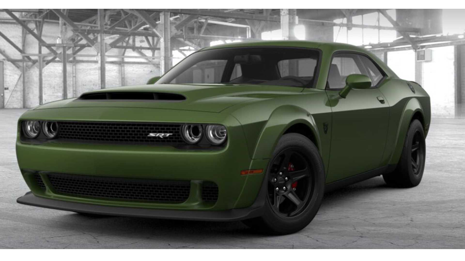 Rare Dodge Challenger Demon Is King Of The Trailer Park Motorious