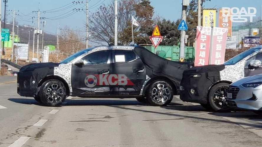Hyundai Santa Cruz terá porte mais próximo de Toro que de F-150