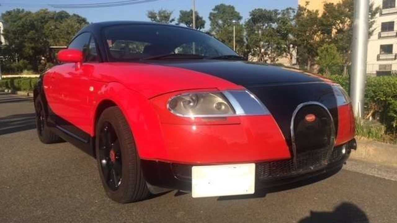 Réplica Bugatti Veyron con un Audi TT