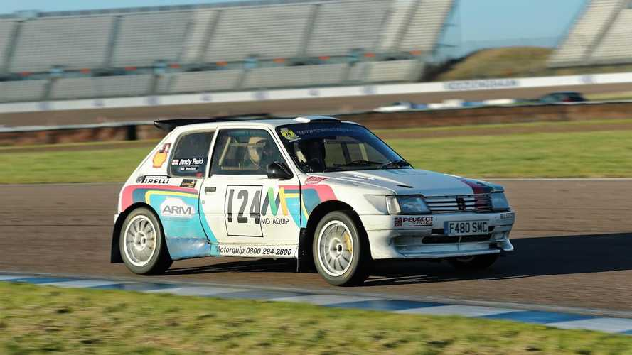 Rally heroes: Andy Reid's Peugeot 205 Maxi
