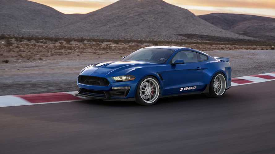 Shelby launches 1000bhp Mustang upgrade