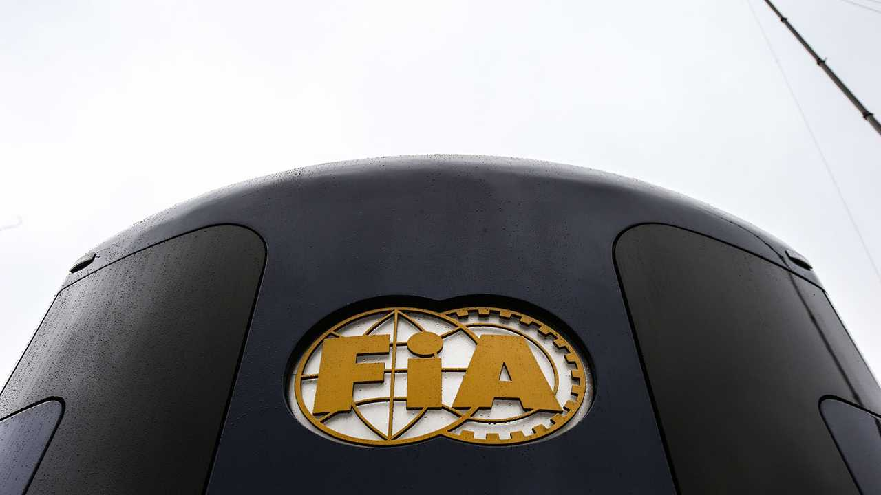 FIA Motorhome and logo