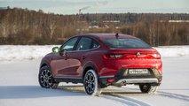 Renault Arkana - тест-драйв на трассе «Формула 7»