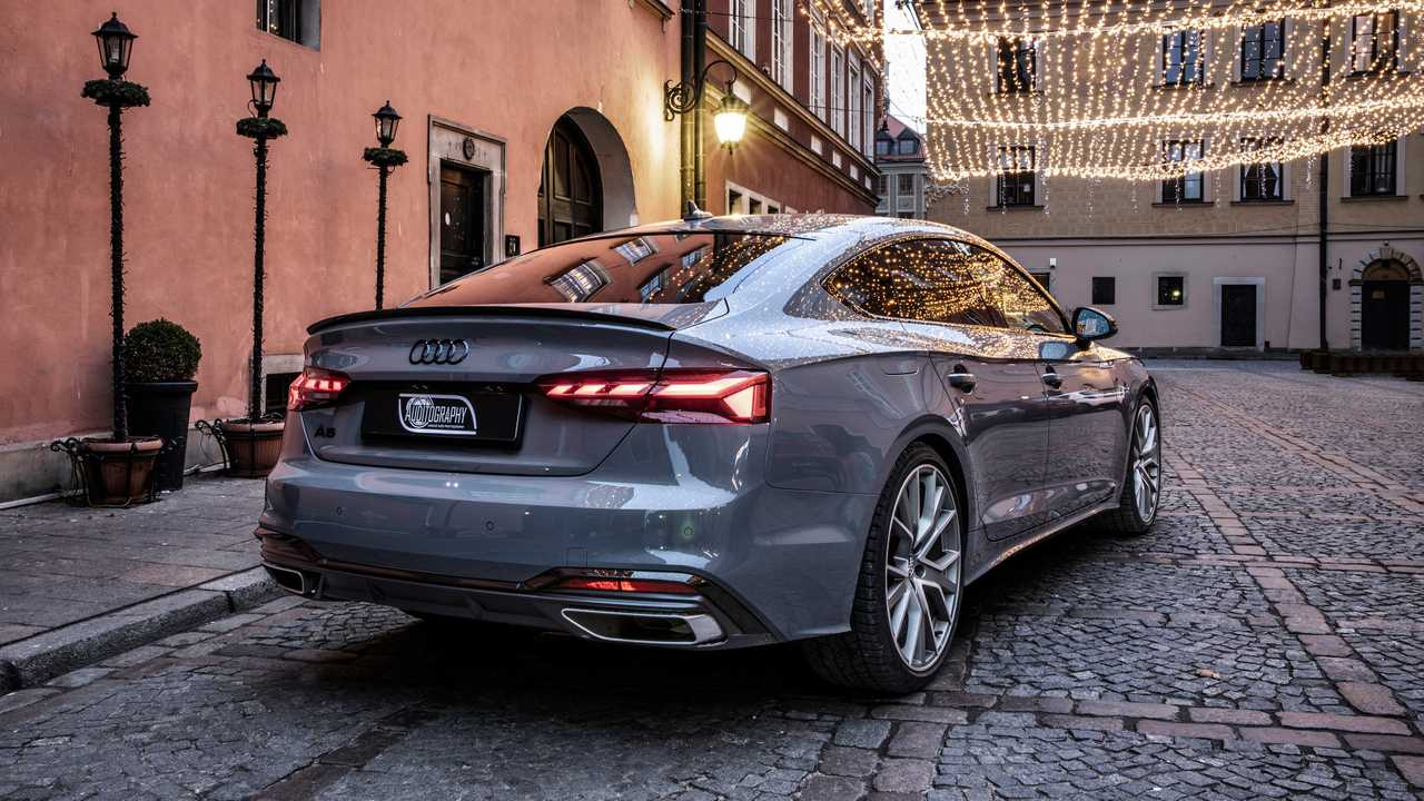 2020 audi a5 sportback s line facelift shot