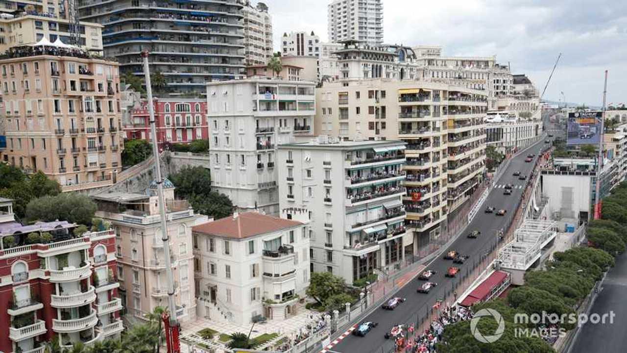 Monaco GP 2019 start race