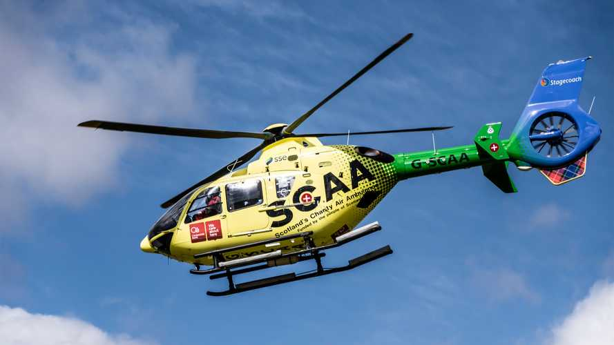 Scotland's Charity Air Ambulance gets a new Suzuki Vitara